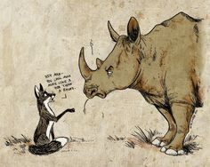 Rhino? by Culpeo-Fox.deviantart.com on @deviantART