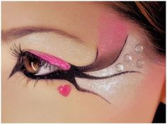 Funky make up!