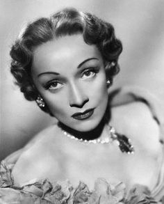 A strikingly beautiful portrait of Marlene Dietrich, 1941