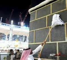 Cleaning Al Kabah