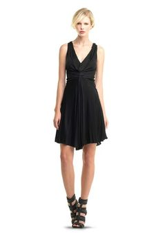 Leon Max Fit & Flare Dress by Labels We Love on Classy Lady, Classy Women, Trendy Fashion, Women's Fashion, Fashion Outfits, I Dress, Dress Outfits, Vintage Concert T Shirts, Leon Max