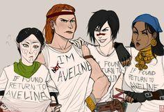 Cute!!! Aveline & Friends (lol)
