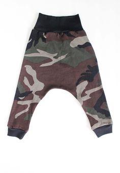 Camo Green Harem Pants