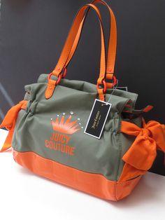 Juicy Couture Orange Tote