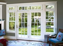 When I Replace The Slider And Windows In Living Room Want French Doors PatioFrench