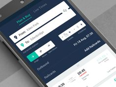 Trainline: ticket, from to, form, cards