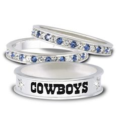 Dallas Cowboys Stackable Rings - The Danbury Mint