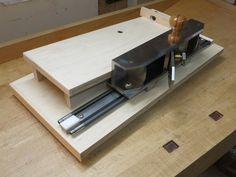 R S Linear Motion Prototype 4 - Shooting board and plane on steroids