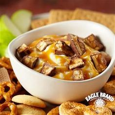 Build-Your-Own Caramel Apple Snacks from Eagle Brand®