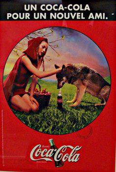 Little Red Riding Hood - A Coke for a new friend A coke for a new friend; Nadege Adatte, concepteur redacteur, Olivier Van Der Vaeren, Concepteur redacteur, Nina Schultz, Photographer.1997