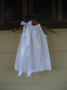 White little dress for you little angel!