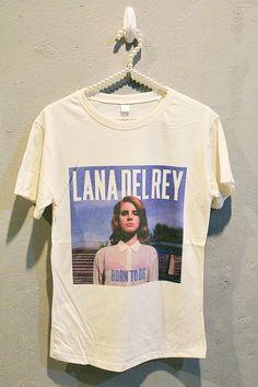 Lana Del Rey TShirt Tee Shirt Indie Pop Women T Shirts by iRocker, $15.99