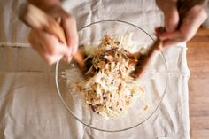 Asian Coleslaw Salad / the kosher spoon
