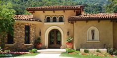 Stucco siding is more traditional Spanish style exterior made up of a lime mixture, sand, and cement. Although you can paint stucco, it does not hold well ...