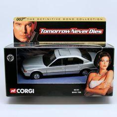 BMW 750i  TOMORROW NEVER DIES  2001 Corgi Classics 007 The Definitive James Bond Collection 1:36 S @ niftywarehouse.com #NiftyWarehouse #Bond #JamesBond #Movies #Books #Spy #SecretAgent #007