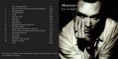 Morrissey - 1991 - Live in Dallas - gatefold