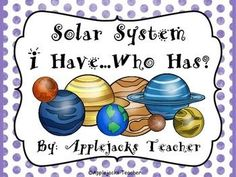 Review information about the Solar System in a fun way!