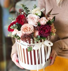 Online flowers in UAE , adorning your home or desks with fragrant blossoms will paintings as visible therapy. Flower Bouquet Delivery, Flower Delivery, Flower Box Gift, Flower Boxes, Romantic Flowers, Pretty Flowers, Online Florist, Order Flowers Online, Beautiful Flowers Wallpapers