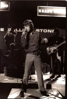 "The Stones on the UK TV show, Ready Steady Go! ""The Weekend Starts Here"""