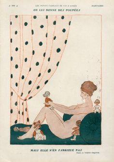 Torné-Esquius 1929  Nude, Dolls