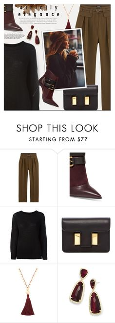 """..."" by a-a-nica ❤ liked on Polyvore featuring Balmain, Étoile Isabel Marant, Tom Ford, Gorjana and Kendra Scott"