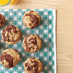 Banana-Nutella Muffins | MyRecipes.com