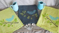 100% Cotton,Kitchen Towel, Bath Towel, Dish Towel, Hand Towel, Kitchen Decor, Hand painted, Bath Decor, Gift, Housewarming Gift by MWCattleCompany on Etsy