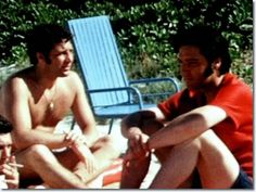 Tom Jones and Elvis Presley at the beach - Hawaii