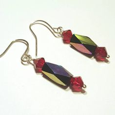Check out this item in my Etsy shop https://www.etsy.com/listing/485363759/holiday-earrings-swarovski-crystal-drop
