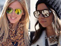 óculos espelhados femininos, tendência 2017