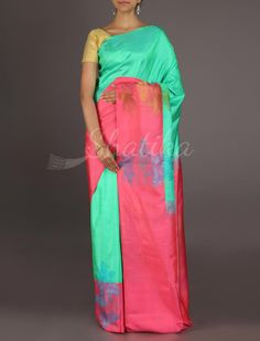 Pujitha Newfangled Color Combinationed #ArniSilkSaree