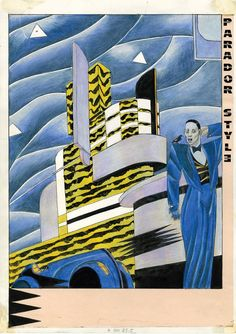 Malinconie fitzgeraldiane. 1982. Parador Style. art: igort. Lyrics: Brolli.