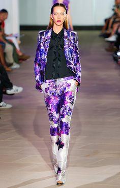 Prabal Gurung. Bold suit choice.