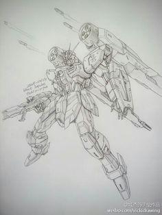 GUNDAM GUY: Awesome Gundam Sketches by VickiDrawing [Updated 8/25/15]