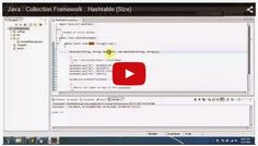 JAVA EE: Java : Collection Framework : Hashtable (Size)