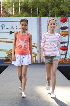 BIMBALINA en la pasarela Barcelona Petit Walking