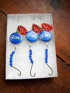 Fishing Lures Gifts for Men  Bud Light Beer by AudaciousApproach, $15.00