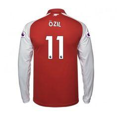 Arsenal Mesut Ozil 11 Heimtrikot 17-18 Langarm