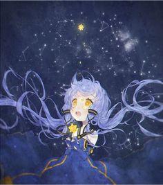 The Background of Anime Loli Kawaii, Kawaii Anime Girl, Anime Art Girl, Anime Oc, Anime Angel, Otaku, Anime Stars, Mikuo, Anime Galaxy