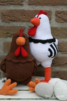 Een tijdje geleden kreeg ik een mailtje van Reginne   met de vraag of ik misschien een kip kon ontwerpen  maar dan wel een hele dikke!    ...