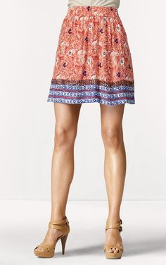 Can't wait for it to be warm enough so that I can wear this adorable skirt!