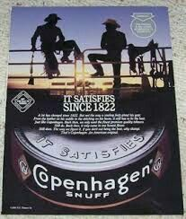 Copenhagen Smokeless Chewing Tobacco Snuff