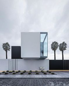 """""""Casa Cubo""""/ by . Plans Architecture, Cultural Architecture, Minimalist Architecture, Residential Architecture, Amazing Architecture, Contemporary Architecture, Interior Architecture, Contemporary Design, Modern Art"""