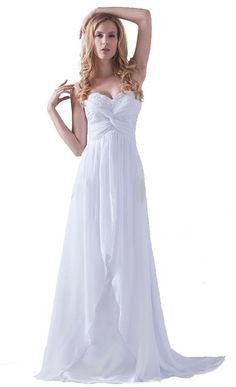 FairOnly New Stock White/Ivory Wedding Dress Bridal Gown Size:6 8 10 12 14 16