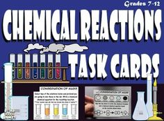 Chemical Reactions Task Cards