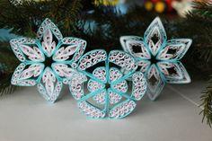 ST. ANTON-Schneeflocken Papier Steintaube von OrnamentHouse