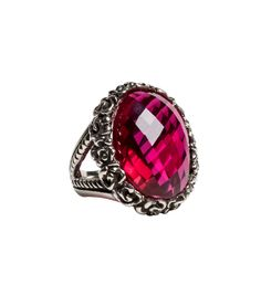Femme Metale Jewelry Ring Around The Rosie Ring Ruby Red