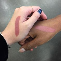 Amuse Bouche shade 'Pepper,' swatched.