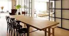 공간 분할이 돋보이는 타운하우스  _ Housing Life&Style