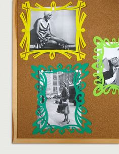 How to make cut paper frames